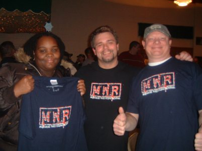 "Mieisha Bell, Brian ""Flair"" Kelley, ""Big Al"" Alan Jansen"