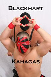Kahagas and the Blackharts have thrilled High Voltage Wrestling fans.