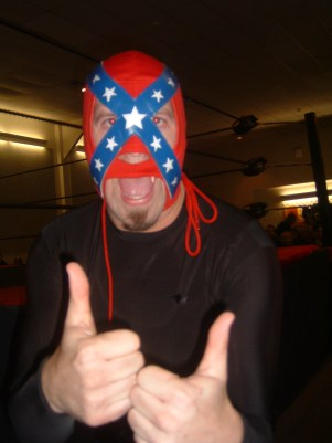 Who is this wild and crazy masked man they call Rebel lucha?