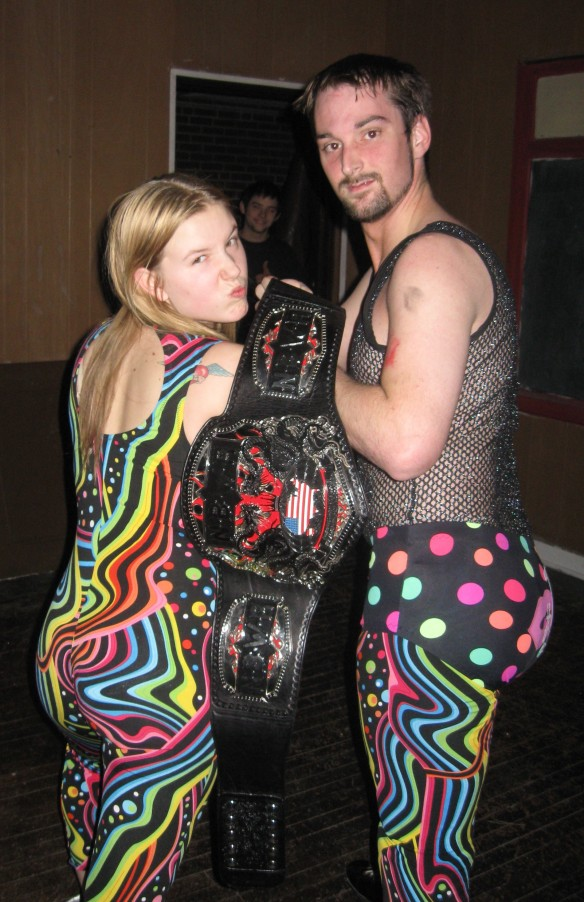 Serenity& Jason Vendetta (The NBWA Heavyweight Champion)