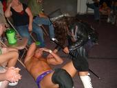 The Magic Man led WWE Wrestler Adam Evans at the first HVW event