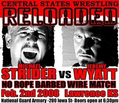 MWR's 2008 Match of the Year!