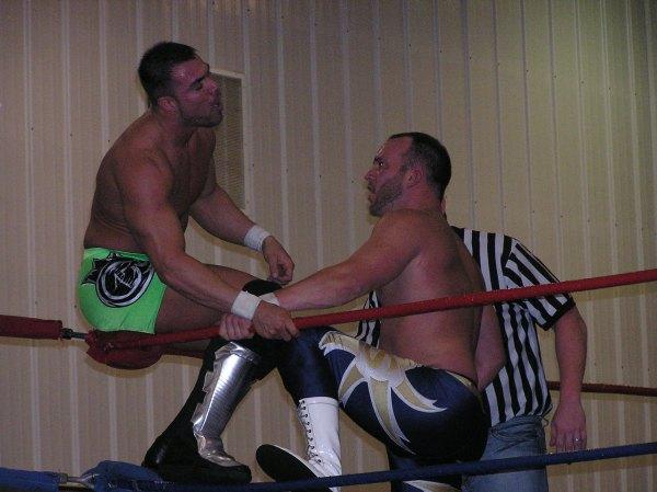 """Superstar"" Steve Fender is relentless in his attack..."