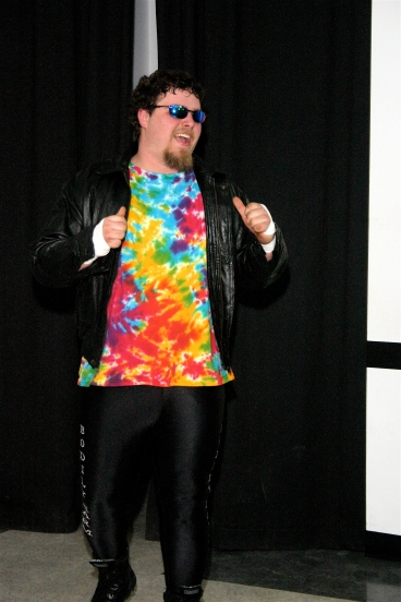 Bobby D enters the ring to take on Blade (Photo Credit : Michael R Van Hoogstraat)