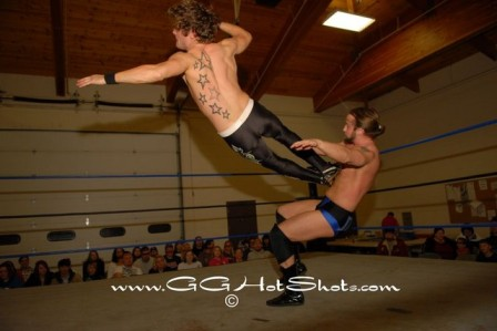 Mike Sydal was impressive in his PWP debut against Mark Sterling (Photo Credit Gary Giaffoglione)