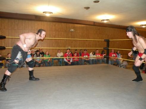 """Knight Wagner vs. MECW Heavyweight Champion Dewey """"Booger"""" Dawson"""