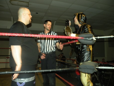 "Jordan Lacey and Jeremy Wyatt face to face (Photo Credit Brian ""Flair"" Kelley"