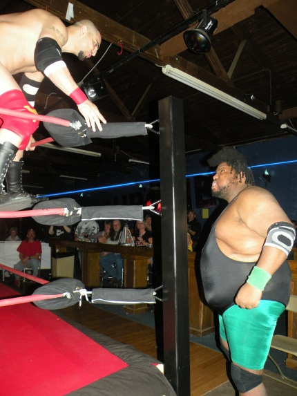Issan Hadeev and Mississippi Madman prepare for war.