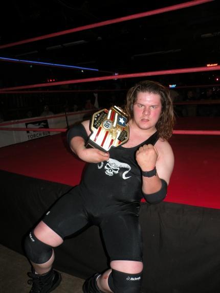 PWE US Champion Mephisto.