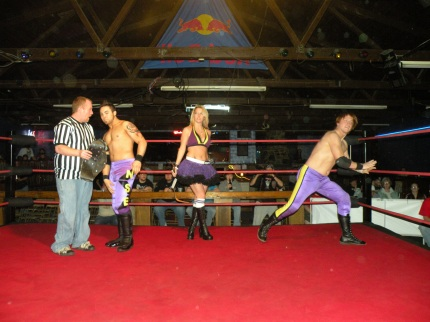 The 2008 MWR Tag Team of the Year The Northstar Express with pNut go for another title.