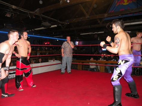 Brett Gakiya and CJ Esparza combine to join one of the Most exciting tag teams in the Midwest Zero Gravity, as they that on the NSE