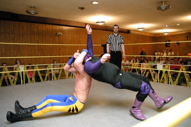 Give Slade some time and everyone will know who this talented wrestler is in the Midwest. (Photo Credit: Mike Van Hoogstraat)