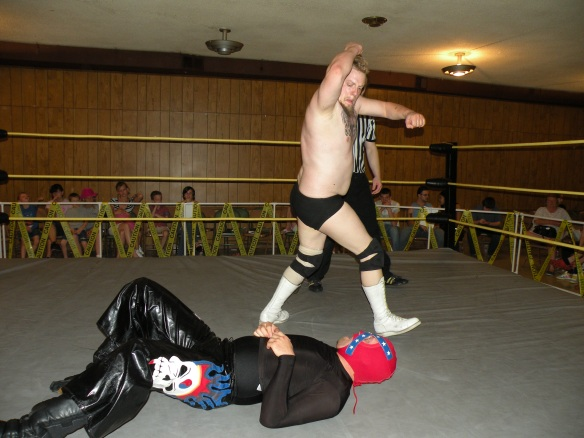 Fantabulous brings the pain to Rebel Lucha (Photo Credit: Brian Kelley)