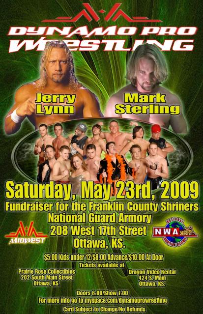 NWA Dynamo Pro Wrestling May 30
