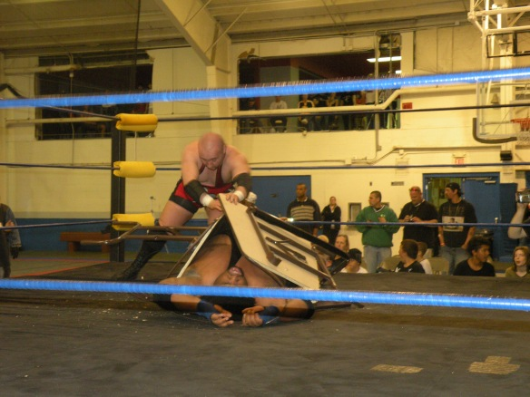 Danny Daniels defeats the Mississippi Madman for the PWN Title. (Photo Credit: Brian Kelley)