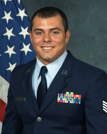 Official Air Force photograph of Shane Rich.