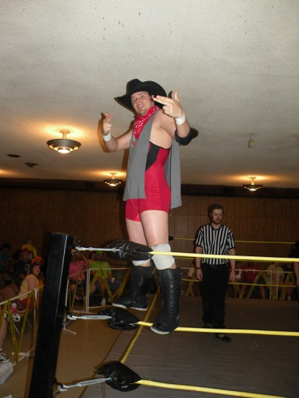 "1/2 of the Bayou Outlaws: Aaron Masterson (Photo Credit: Brian ""Flair"" Kelley)"