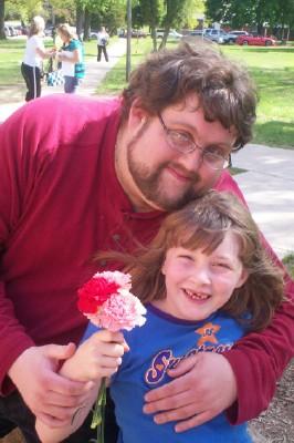 Camera Guy Chris and Daughter