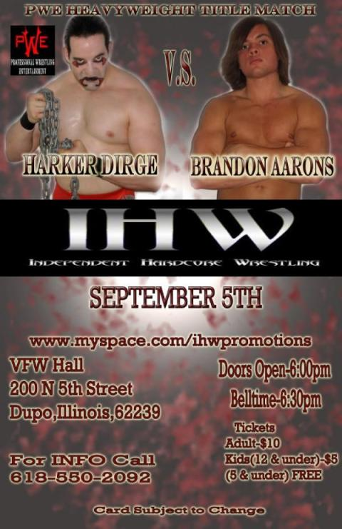 Ihw Sept 4th
