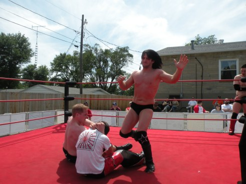 "Blake Steel and Eric Ruffington repays the favor to Zero Gravity (Photo Credit Brian ""Flair"" Kelley)"