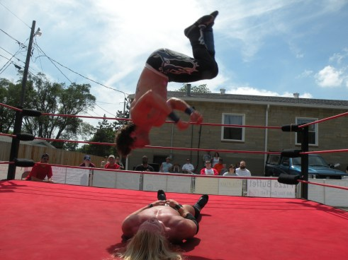 "Perfect execution by Mike Sydal.(Photo Credit Brian ""Flair"" Kelley)"