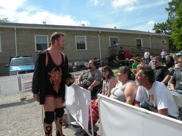 "No one gets in the head of the fans like Jeremy Wyatt.(Photo Credit Brian ""Flair"" Kelley)"