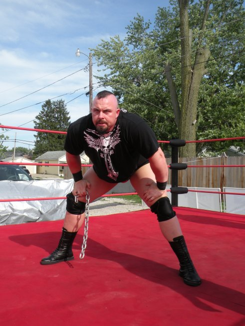 "One of the most powerful men to ever enter the ring Keith Walker  (Photo Credit Brian ""Flair"" Kelley)"