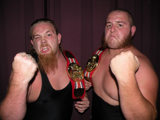 "Current LWA Champions The Hooligans(Photo Credit Brian ""Flair"" Kelley)"