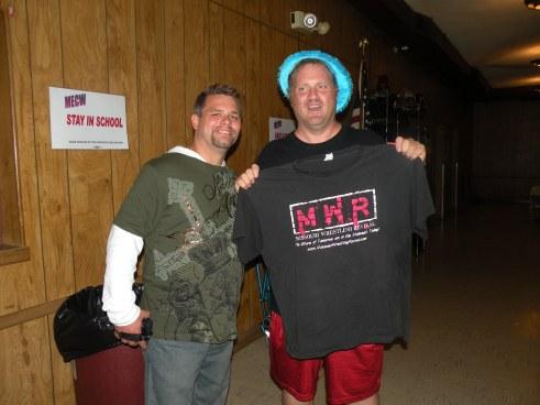 "Brian ""Flair"" Kelley with Kenneth Busby"