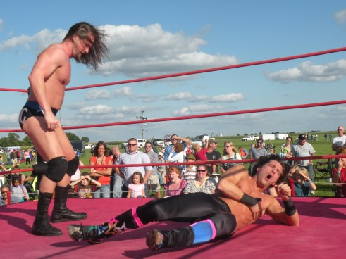 "Mark Sterling methodically takes his opponents apart.(Photo Credit Brian ""Flair"" Kelley)"