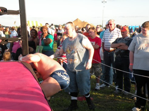 "There are few men as dangerous outside the ring as Ian Rotten. (Photo Credit Brian ""Flair"" Kelley)"