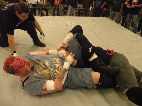"People forget that Ian Rotten can wrestle, which makes him all that more dangerous in a Hardcore match.(Photo Credit Brian ""Flair"" Kelley)"