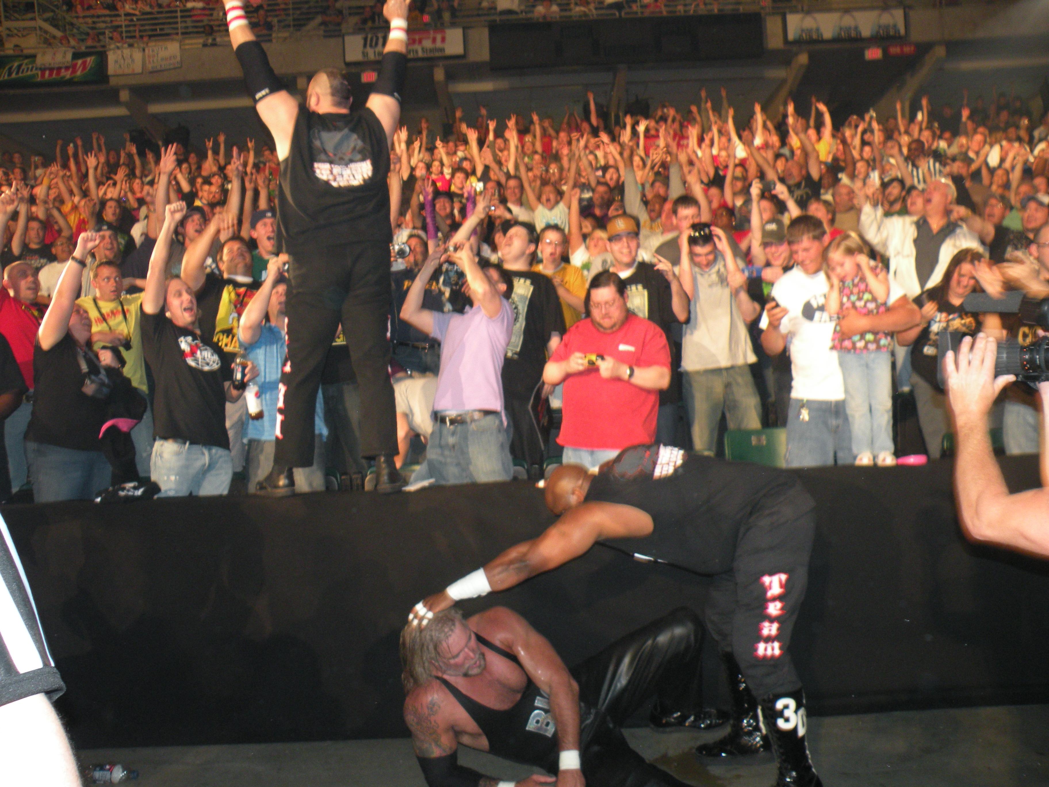 Missouri wrestling revival covers total nonstop wrestling's lockdown