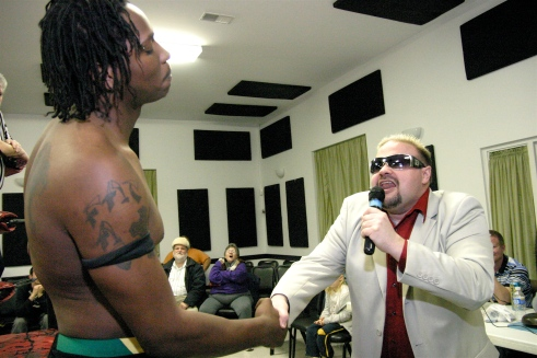 Could Donovan Ruddick and Travis Cook be the new face of Pro Wrestling? (Photo Credit Mike Van Hoogstraat)