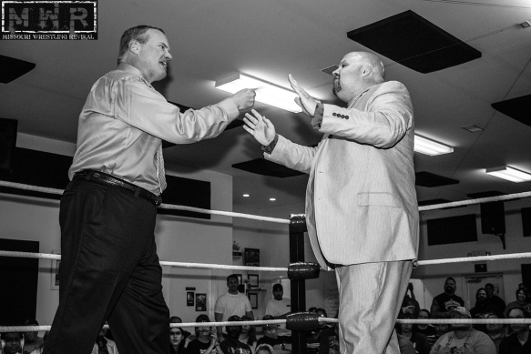 The fans loved meeting Jim Cornette at SICW in East Carondelet, Illinois in June. One man who would disagree is the Manager of Champions Travis Cook