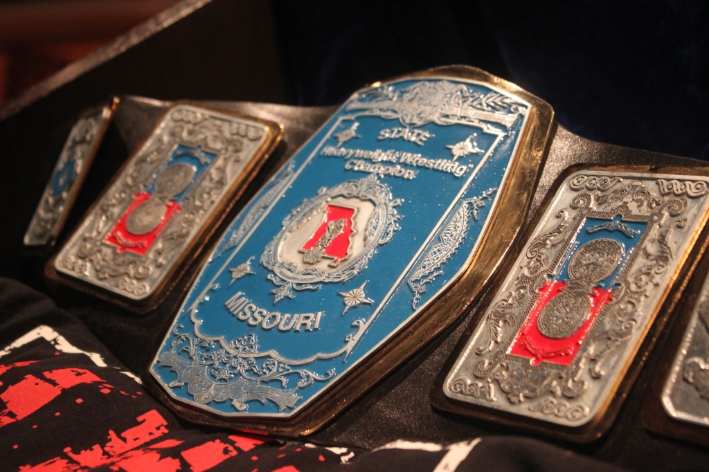 Missouri Title belt 1