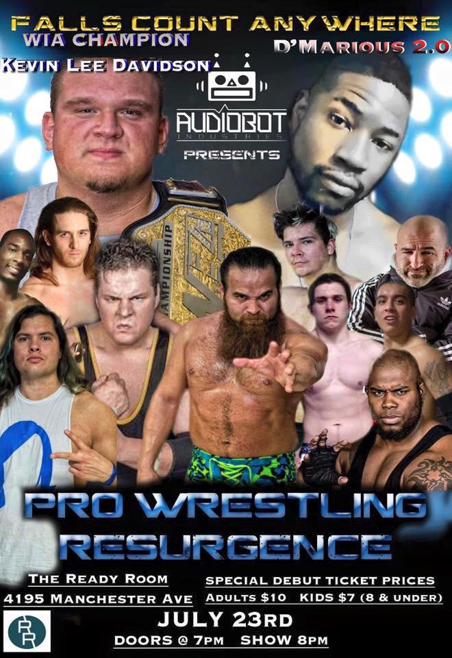 Pro Wrestling Resurgence 7/23/16