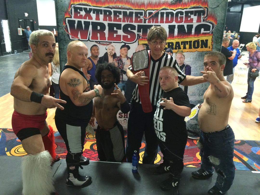 Words... midget wrestling tryouts