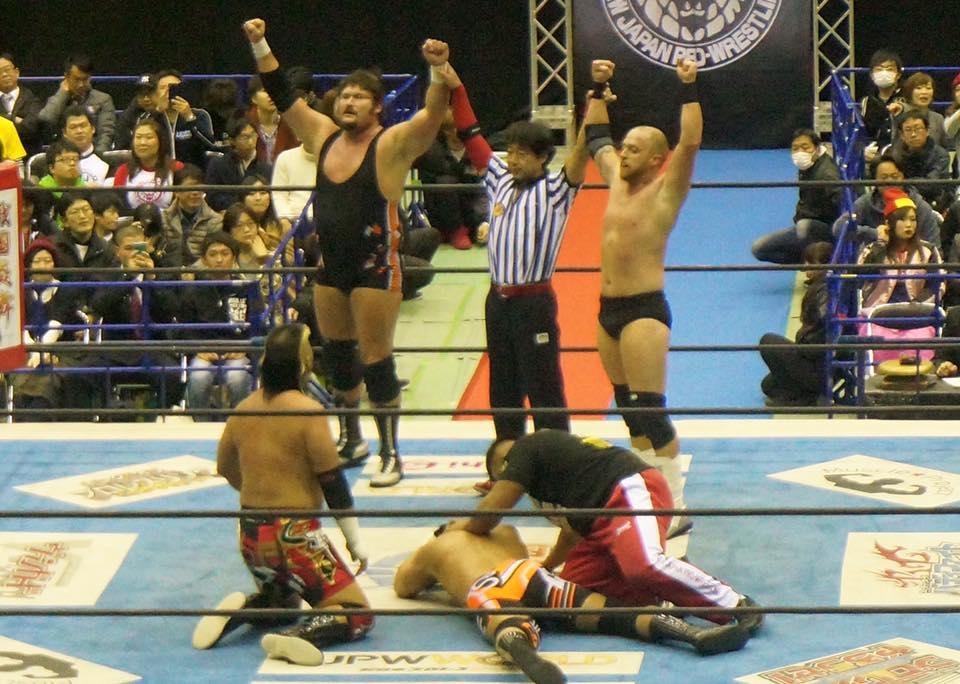 WLW beat TENCOZY (@NJPW) 12/07/16